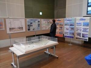 新幹線に関するパネル展示