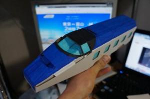 新幹線貯金箱イメージ